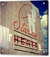 Starlite  Acrylic Print