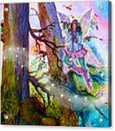 Starr Lynn Holly Berry Fairy Acrylic Print