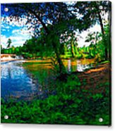Starrs Mill 360 Panorama Acrylic Print