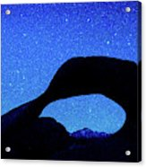 Starry Arch At Mobius Arch, Alabama Acrylic Print