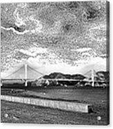 Starry Bay Day Acrylic Print