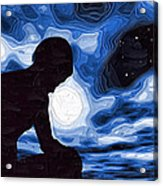 Starry Night Depression Acrylic Print