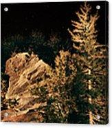 Starry Night In The Blue Ridge Acrylic Print