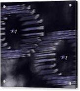 Stars And Bars Acrylic Print