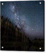 Stars On The Lake 2 Acrylic Print