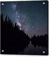 Stars On The Lake Acrylic Print