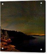 Stars Over Monument Cove 4186 Acrylic Print