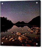 Stars Over The Bubbles Acrylic Print by Brent L Ander