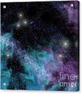 Starscape Nebula Acrylic Print