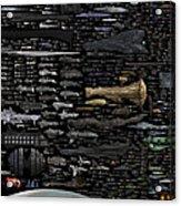 Starships... Acrylic Print