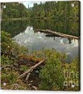 Starvation Lake - British Columbia Acrylic Print