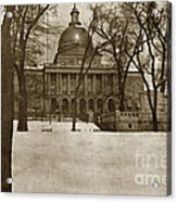State Building Boston Massachusetts Circa 1900 Acrylic Print