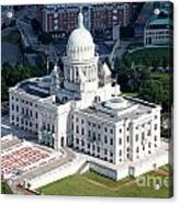 State Capitol Buildng Providence Rhode Island Acrylic Print
