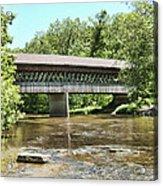 State Road Covered Bridge Acrylic Print