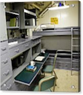 State Room Aboard Battleship Uss Acrylic Print