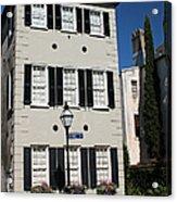 State Street - Charlestons French Quarter Acrylic Print