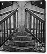 State Street Stairs Acrylic Print