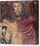 Station I Jesus Is Condemned To Death Acrylic Print
