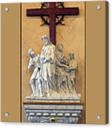 Station Of The Cross 01 Acrylic Print