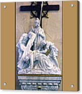 Station Of The Cross 07 Acrylic Print