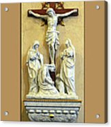 Station Of The Cross 12 Acrylic Print