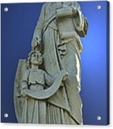 Statue 05 Acrylic Print by Thomas Woolworth