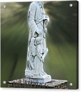 Statue 20 Acrylic Print