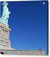 Statue And Sky Acrylic Print