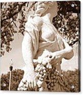 Statue In St Petersburg Acrylic Print
