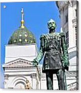 Statue Of Alexander II Acrylic Print