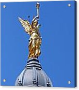 Statue Of An Angel Acrylic Print