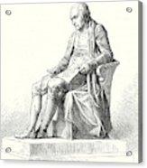 Statue Of James Watt In Westminster Acrylic Print