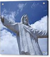 Statue Of Jesus Christ In Cusco Acrylic Print