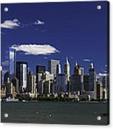 Statue Of Liberty Ferry 2 Acrylic Print