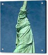 Statue Of Liberty Hdr Acrylic Print