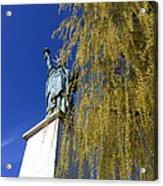 statue of liberty in Paris Acrylic Print