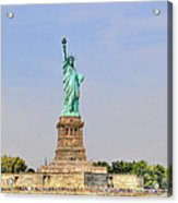 Statue Of Liberty Macro View Acrylic Print