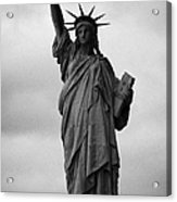 Statue Of Liberty National Monument Liberty Island New York City Nyc Usa Acrylic Print