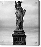 Statue Of Liberty National Monument Liberty Island New York City Usa Nyc Acrylic Print