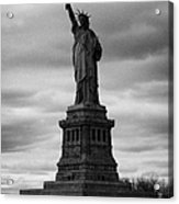 Statue Of Liberty New York City Acrylic Print by Joe Fox