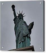 Statue Of Liberty - Paris France - 01131 Acrylic Print