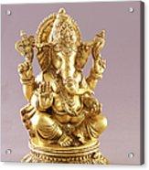 Statue Of Lord Ganesh Acrylic Print