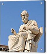 Statue Of Plato Acrylic Print