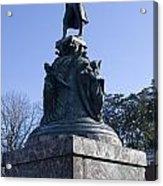 Statue Of Thomas Jefferson Acrylic Print