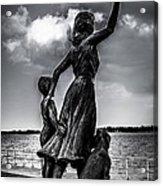 Statue St Clair Mi Acrylic Print