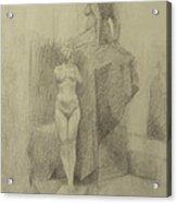 Statues Acrylic Print