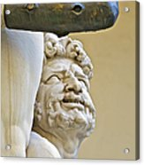 Statues Of Hercules And Cacus Acrylic Print