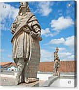 Statues Of Prophets Acrylic Print