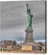 Staute Of Liberty Acrylic Print