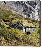 Stavbergsetra - Cowherd Huts Acrylic Print